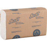 Kimberly-Clark SCOTT® 01804 White Multifold Hand Paper Towels