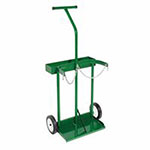 Anthony Dual-Cylinder Carts with Double-Reinforced Frames, Holds 8in-8.5in dia. Cylinder