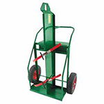 Anthony Heavy-Duty Reinforced Frame Dual-Cylinder Carts, 16in Pneumatic Wheels