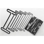 "Allen 8 Piece 9"" Wire T-handle Wrench Set"
