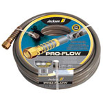 Jackson Tools Pro-Flow Commercial Duty Hose, 5/8in x 100ft, Gray