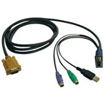 Tripp Lite P778-006 - keyboard / video / mouse (KVM) cable - 6 ft