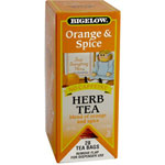 R C Bigelow Orange & Spice Herbal Tea
