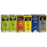 R C Bigelow 6 Assorted Flavor Tea