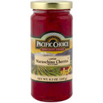 Pacific Choice Specialty 8 1/2 Ounce Red Stem Cherries