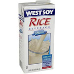 The Hain Celestial Group 1 Quart Westbrae Plain Rice Beverage