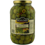 Pacific Choice Specialty 70-80 Count Pimento Stuffed Olives in Jar