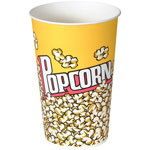 Solo Grease Resistant Paper Popcorn Bucket, 46 OZ