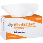 WypAll® L40 Cleaning Wipes, White, Case of 9
