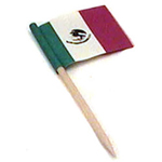 Rofson Associates TMF145 Mexican Flag Toothpick