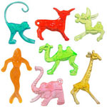 Spir-It 05-0890 Zoo Animal Hanger Assortment Toothpicks , 1""