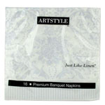 Creative Converting Napkins, Paisley Design, Ply, 12 Packs of 16