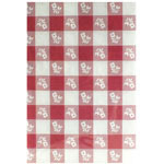 "Creative Converting Tablecover, 54""x108"", Red Gingham"