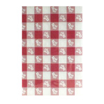"Creative Converting Tablecover, 40"" x 100', Gingham"