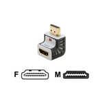 Monster Monster Advanced for HDMI 1080p 90 Degree Adapter VA HDMI R-ADPT - video / audio adapter - HDMI