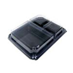 Pure Packaging 4Corners 3 Compartment Dinner Box