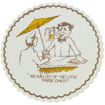 Paterson Pacific Parch Co Budgetboard Joke Coaster