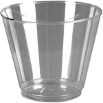WNA Comet 5 Oz Hot/Cold Plastic Tumblers, Clear, Pack of 1000