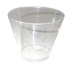 WNA Comet 9 Oz Hot/Cold Plastic Tumblers, Clear, Pack of 500