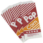 "Gold Medal Products Co 7"" .6 Ounce Popcorn Bags"