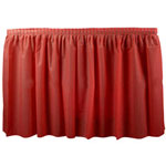 "Creative Converting 286419 Red Tableskirt, 29"" x 14'"