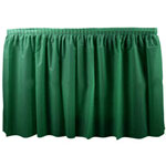 "Creative Converting 286416 Dark Green Tableskirt, 29"" x 14'"