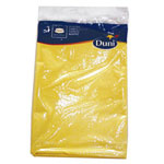 Duni 286402 Round Yellow Tablecover, 84""