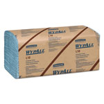 WypAll* L10 Windshield Wipers, Banded, 2-Ply, 9 3/10 x 10 1/2, 140/Pack, 16 Packs/Carton