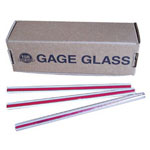 "Gage Glass Rl 5/8"" x 24 Gauge Glass"