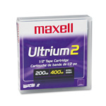 Maxell LTOU2/200 - LTO Ultrium 2 - 200 GB / 400 GB - Storage Media