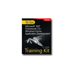 Microsoft MCTS Self-Paced Training Kit (Exam 70-505): .NET Framework 3.5 Windows Forms Application Development self-training course