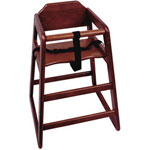 Misc Items Assembled Mahogany High Chair