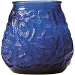 "Candle Lamp M0012BL 12"" Blue Victory Candle"