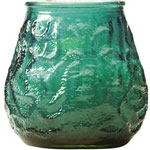 "Candle Lamp M0012G 12"" Green Victory Candle"