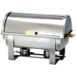 Misc Imports Full Stainless Steel Roll-Top Chafer