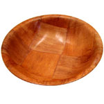 "Misc Imports 6"" Wood Salad Bowl, Case Of 12"