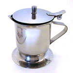 Johnson-Rose 5 Ounce Stainless Steel Cover Creamer