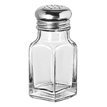 Libbey 97052 Square 2 Ounce Salt and Pepper Shaker