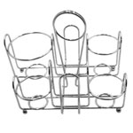 Traex Large Wire Rack Condiment Caddy