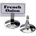 The Vollrath Company Stainless Steel Menu Card Holder
