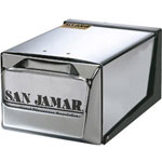 San Jamar H3001XC Chrome Fullfold Napkin Dispenser