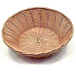 Tablecraft Natural Round Basket