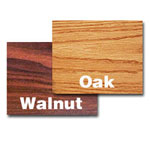 "Oak Street Manufacturing 24"" x 30"" Walnut/Oak Tabletop"