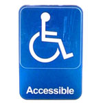 "Traex Large Handicapped ""Accessible"" Sign"