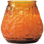Candle Lamp M0012A6 Amber Venetian Candle