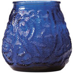 Candle Lamp M0012BL6 Blue Venetian Candle