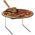 "American Metalcraft Universal Pizza Stand, 12"" x 12"" x 7"""