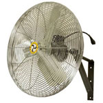 Airmaster 71582 Commercial Unit Pack Wall/Ceiling Mount Air Circulating Oscillating Fan, 30""