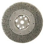 "Anderson Brush Dm4s .006/ss Crimped Wire Wheel 1/2""-3/8"" Ar"