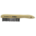 "Anderson Brush 4"" x 16 Shoe Handle Brush"